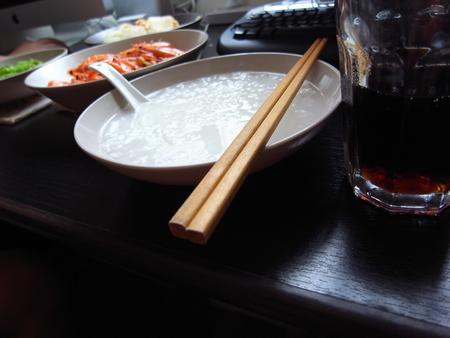 白粥配可乐