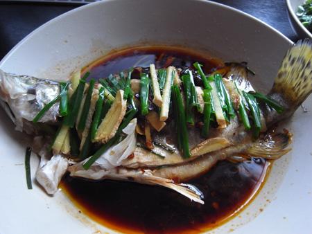 豉汁蒸鲈鱼?鳜鱼?