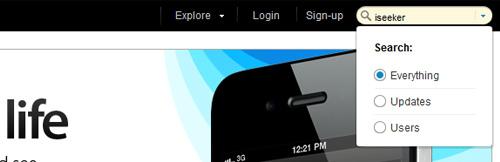 kontain Showcase of Beautiful Search Box UI Designs