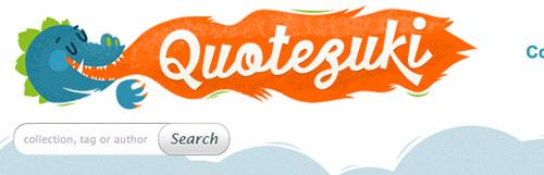 quotezuki Showcase of Beautiful Search Box UI Designs