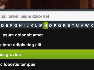 scroll search module Showcase of Beautiful Search Box UI Designs
